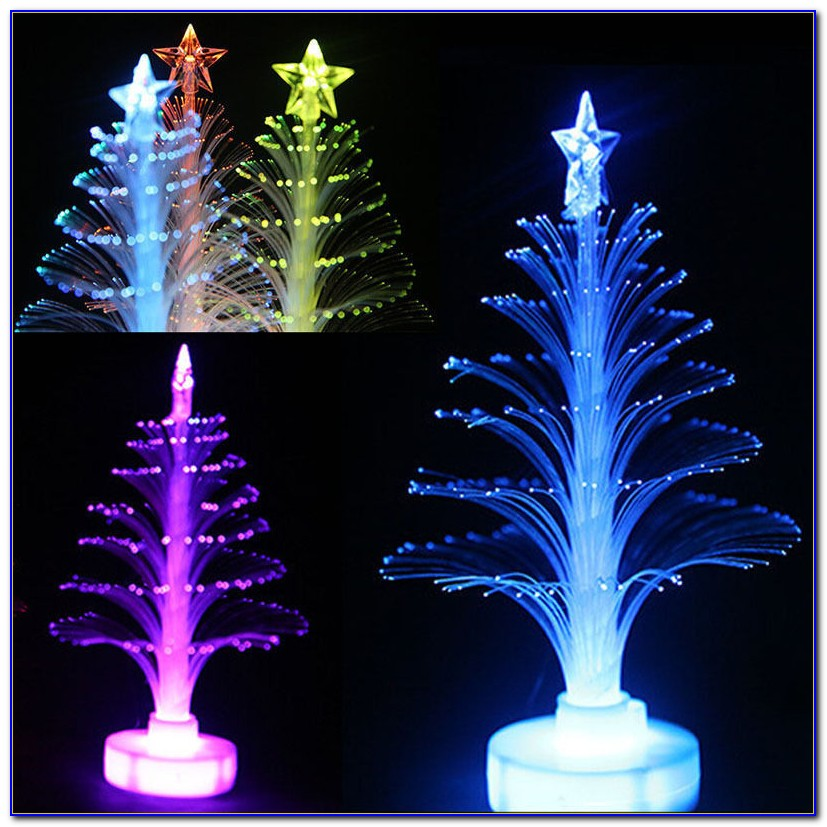 3' Fiber Optic Tabletop Christmas Tree