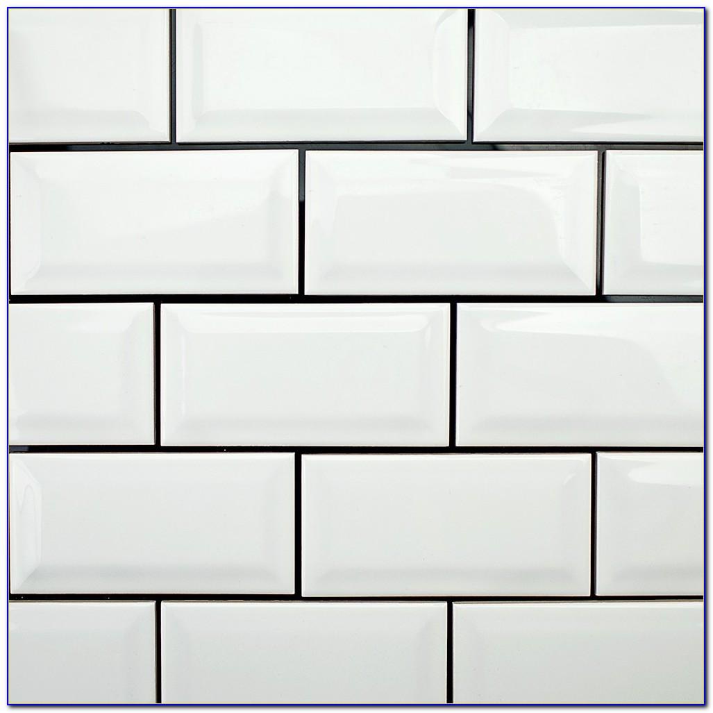 3x6 White Subway Tile Bullnose