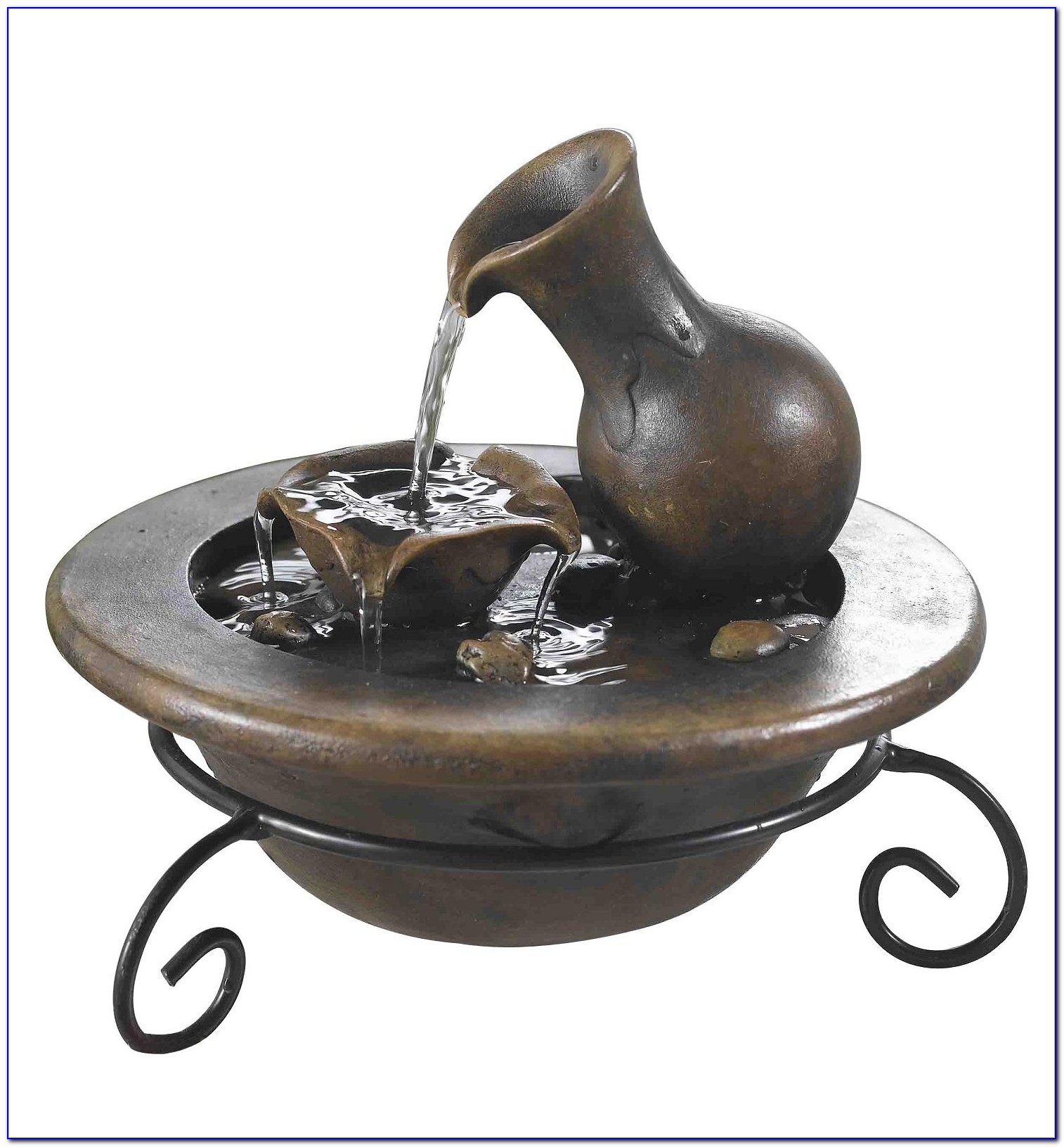 Alpine 13 In. Waterfall Tabletop Fountain