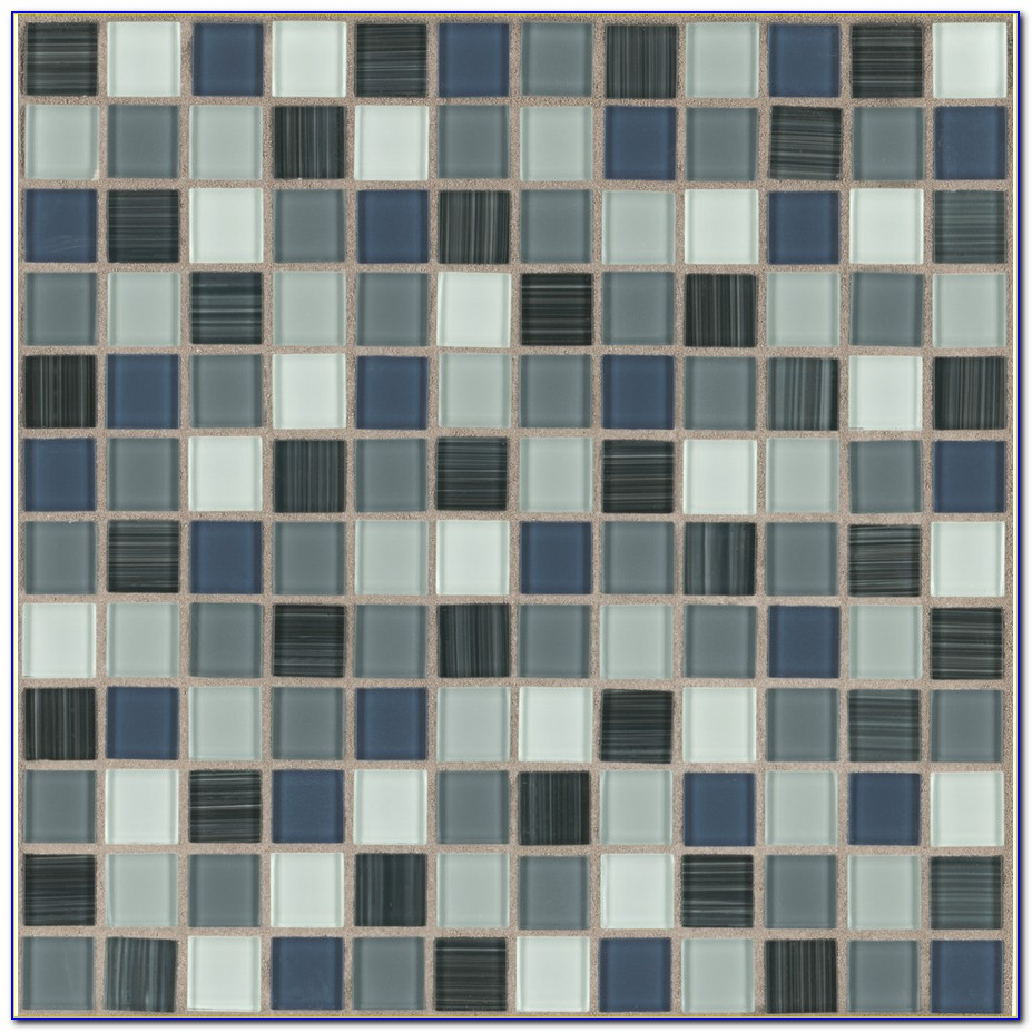 American Olean Glass Tile Installation