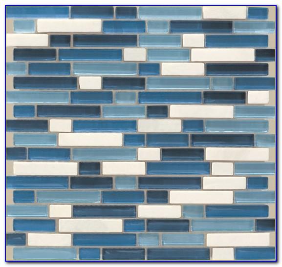 American Olean Glass Tile Silver Cloud
