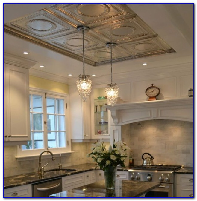 Antique Pressed Tin Ceiling Tiles