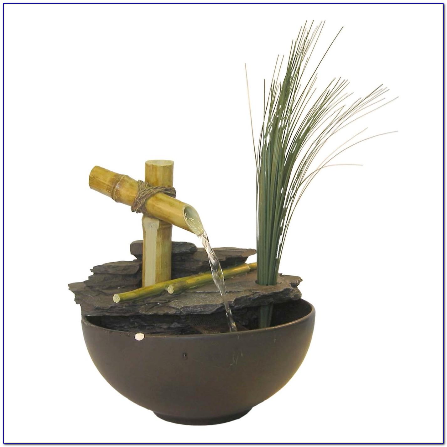 Bamboo Desk Fountain