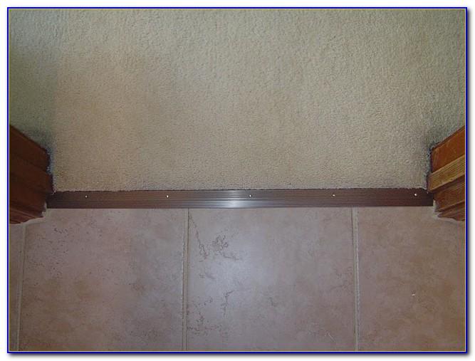 Carpet To Tile Transition Doorway