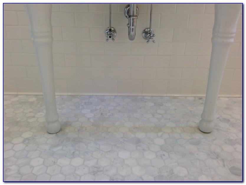 Carrera Marble Hex Floor Tile