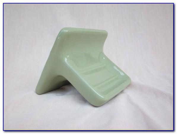 Ceramic Bathtub Soap Dish With Handle