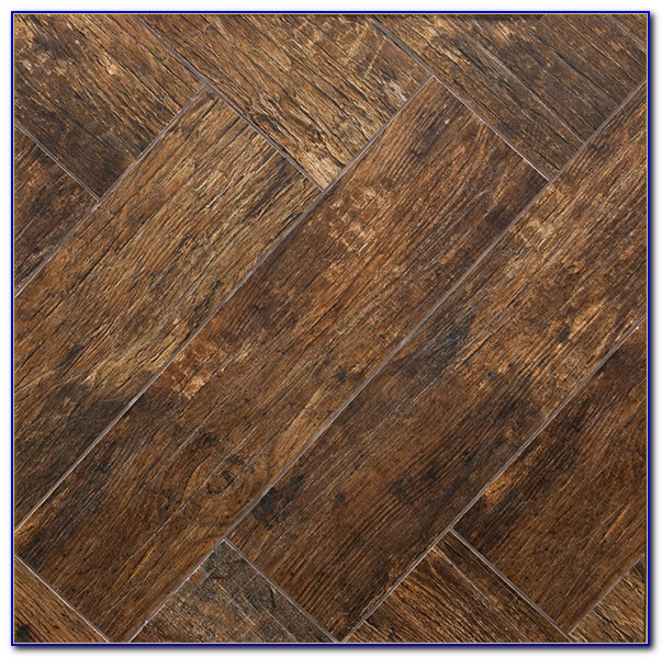 Ceramic Tile Wood Grain Look