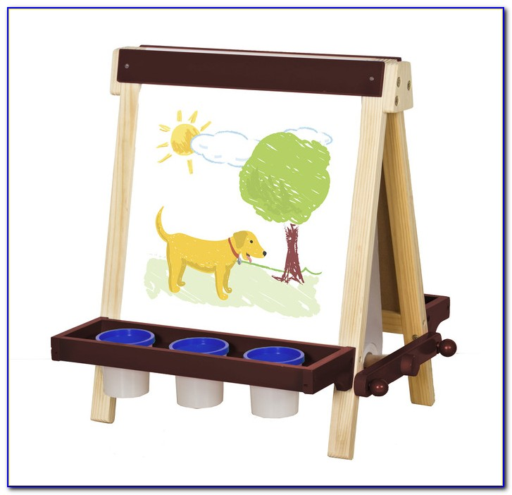 Childrens Tabletop Art Easel