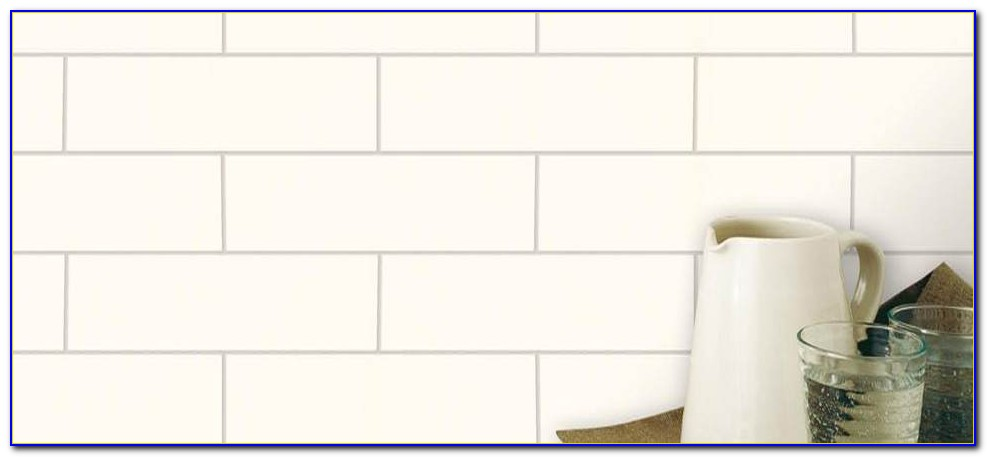 Daltile Matte White Subway Tile