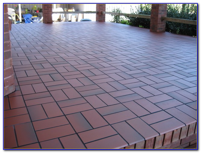 Deck Tile Over Concrete Patio