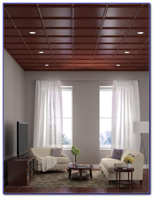Direct Mount Ceiling Tile System