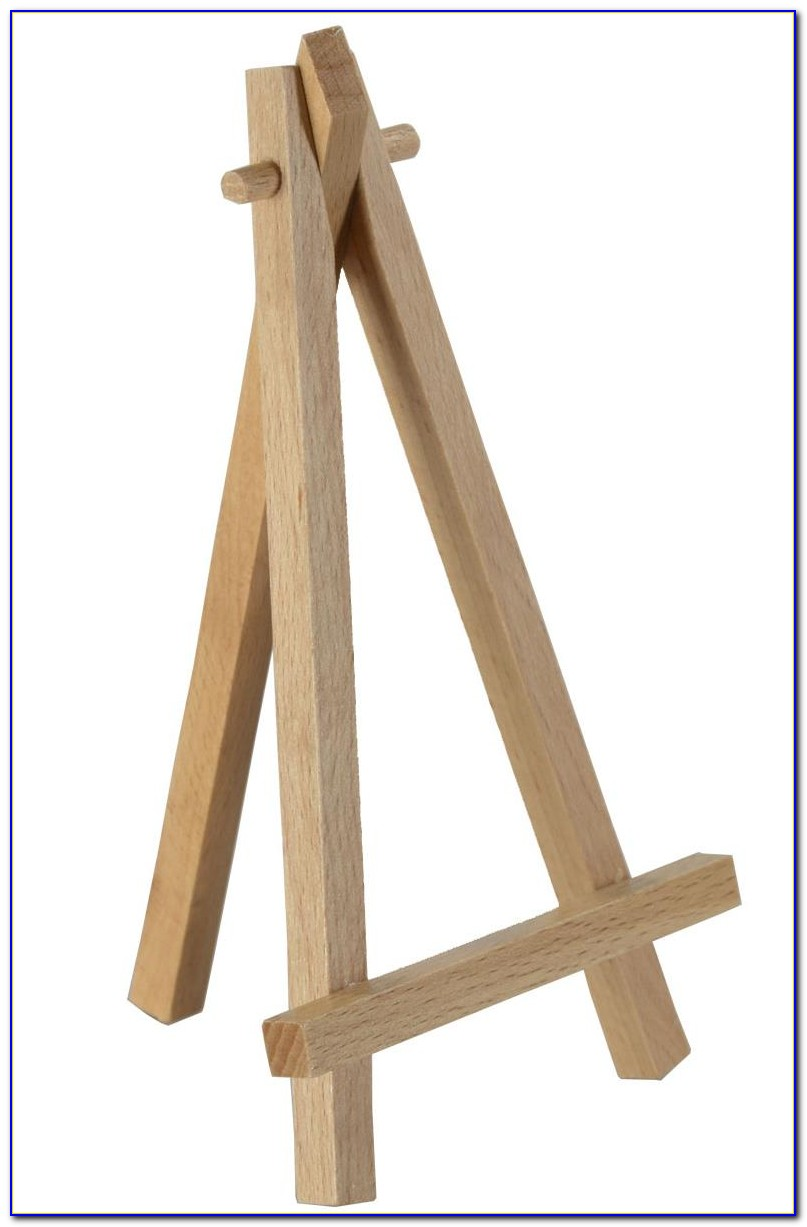 Display Easels For Tabletop Use
