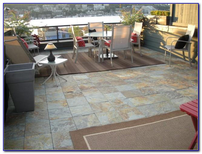 Exterior Tile Over Concrete Patio