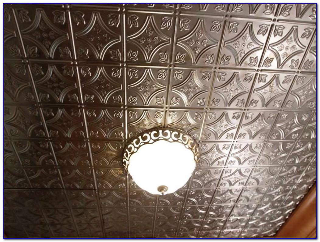 Fake Pressed Tin Ceiling Tiles