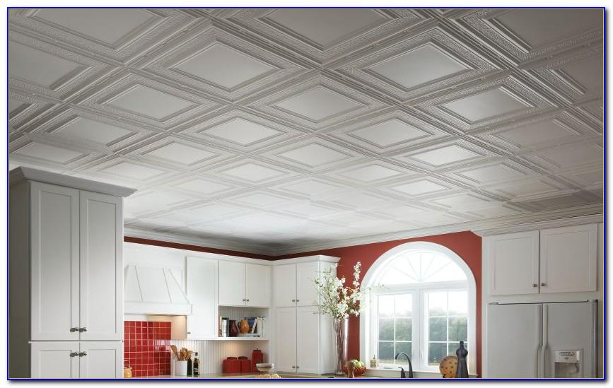 Faux Tin Drop Ceiling Tiles 2x4