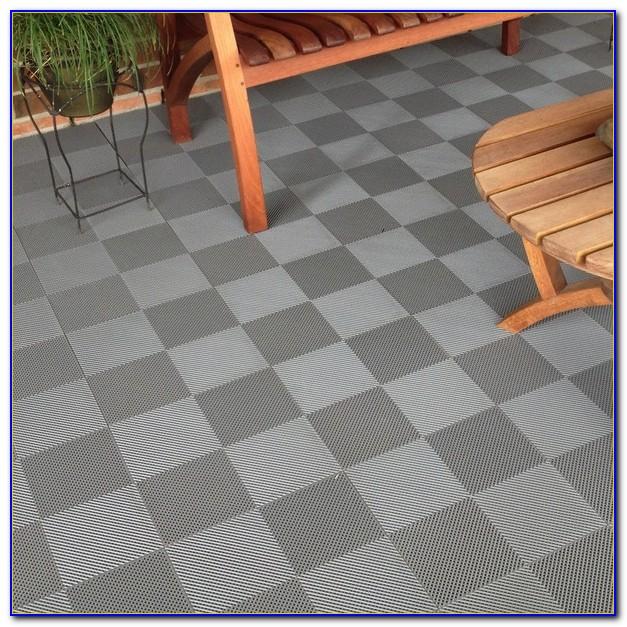 Flexdeck Interlocking Wood Deck Tiles