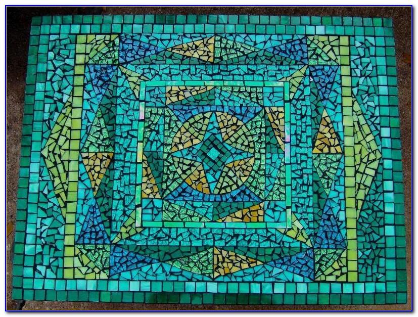 Free Mosaic Tabletop Patterns