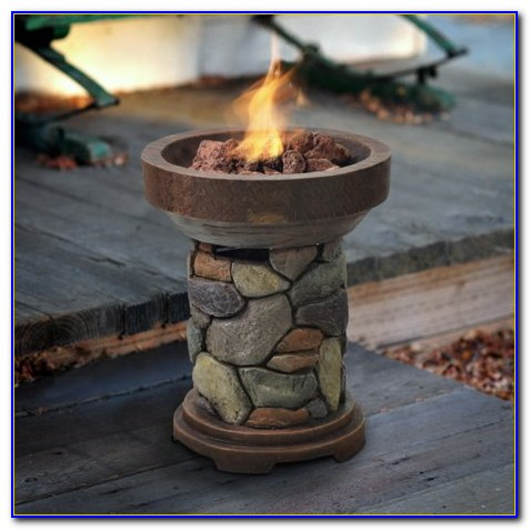 Gas Tabletop Fire Pit