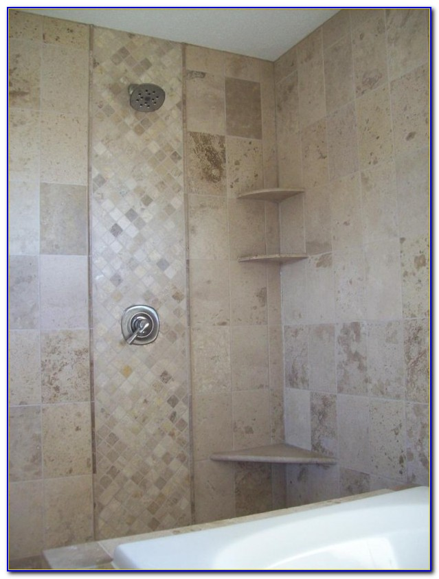 Glass Accent Tile In Shower