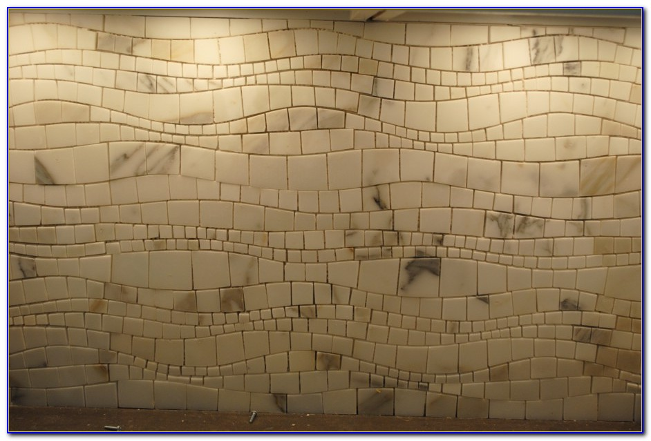 Glass Mosaic Tile Backsplash Bathroom