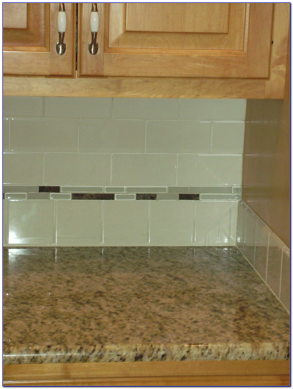 Glass Subway Tile Backsplash Ideas
