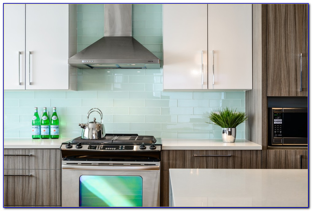Glass Subway Tile Backsplash Spacing