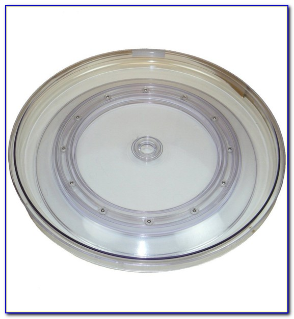 Glass Table Top Lazy Susan Turntable