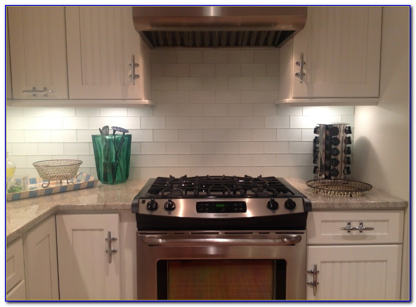 Glass Tile Backsplash Edge
