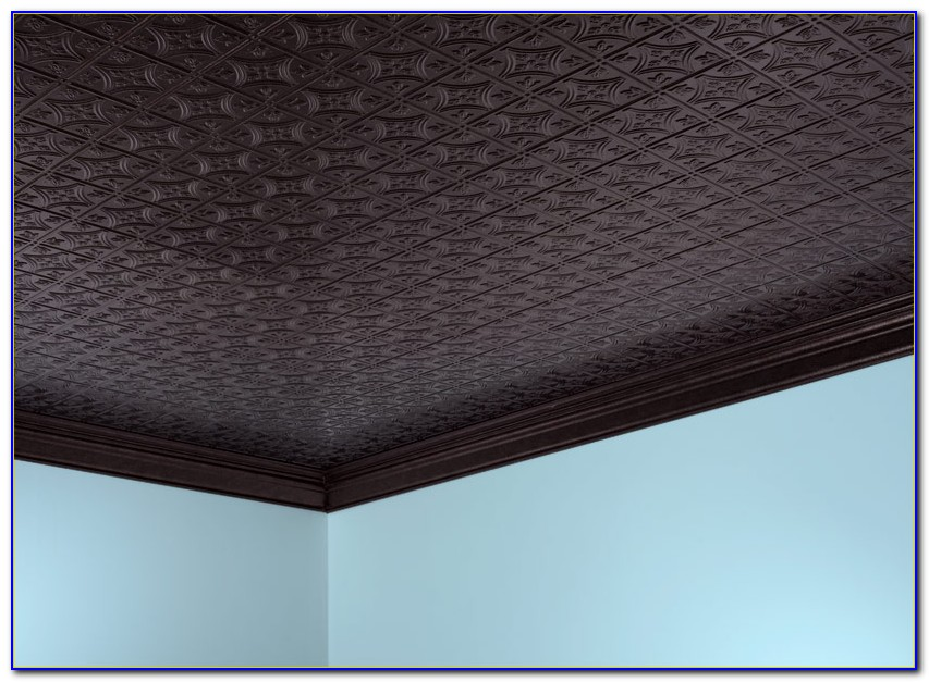 Glue On Decorative Ceiling Tiles