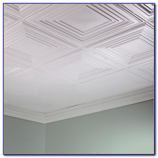 Glue On Tin Ceiling Tiles