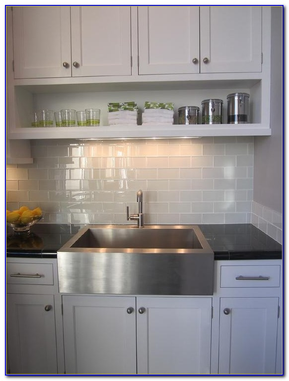 Grey Subway Tile Backsplash Canada
