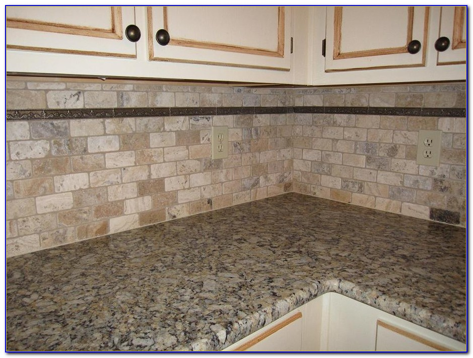 Grouting Natural Stone Tile Backsplash