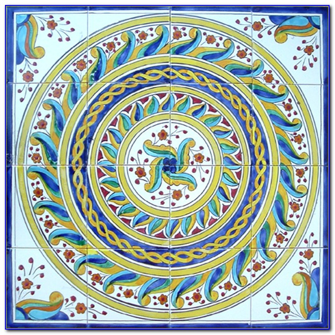 Hand Painted Ceramic Tiles Shirley Australia