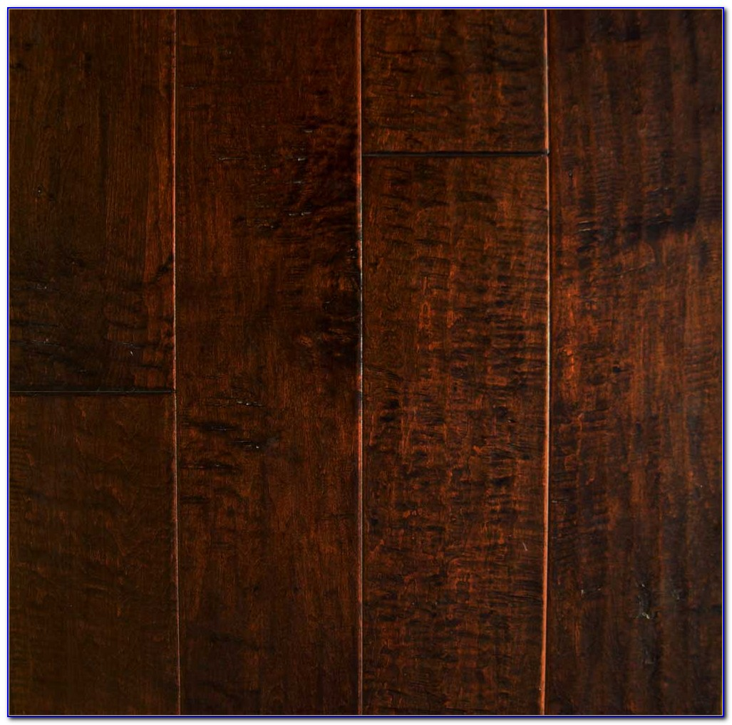 Hand Scraped Wood Plank Tile