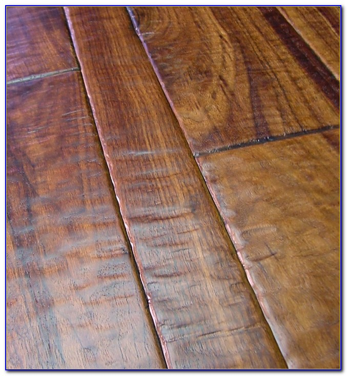 Hand Scraped Wood Tile