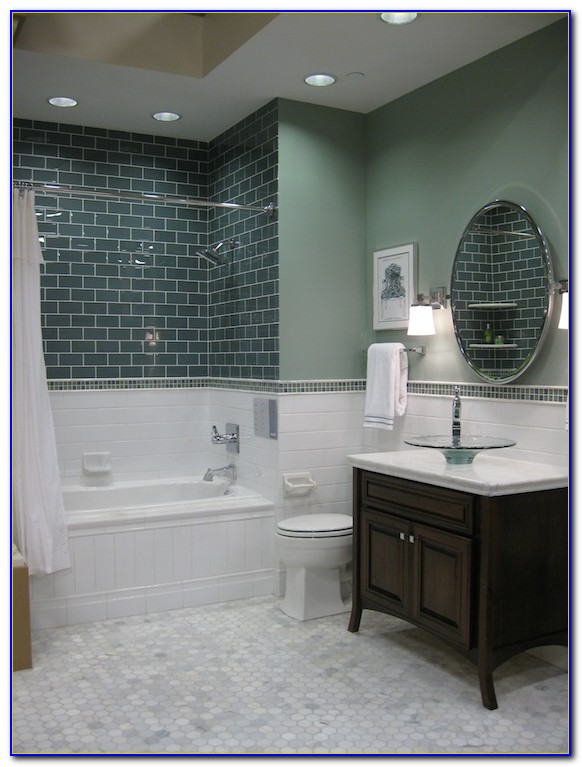 Hexagon Bathroom Floor Tile Ideas