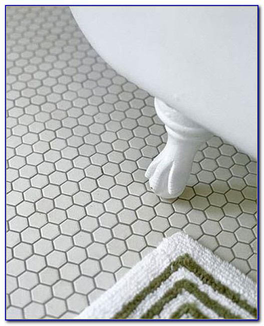 Hexagon Bathroom Floor Tiles