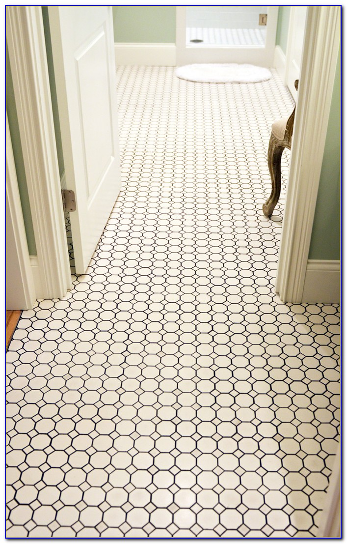 Hexagon Ceramic Bathroom Tile