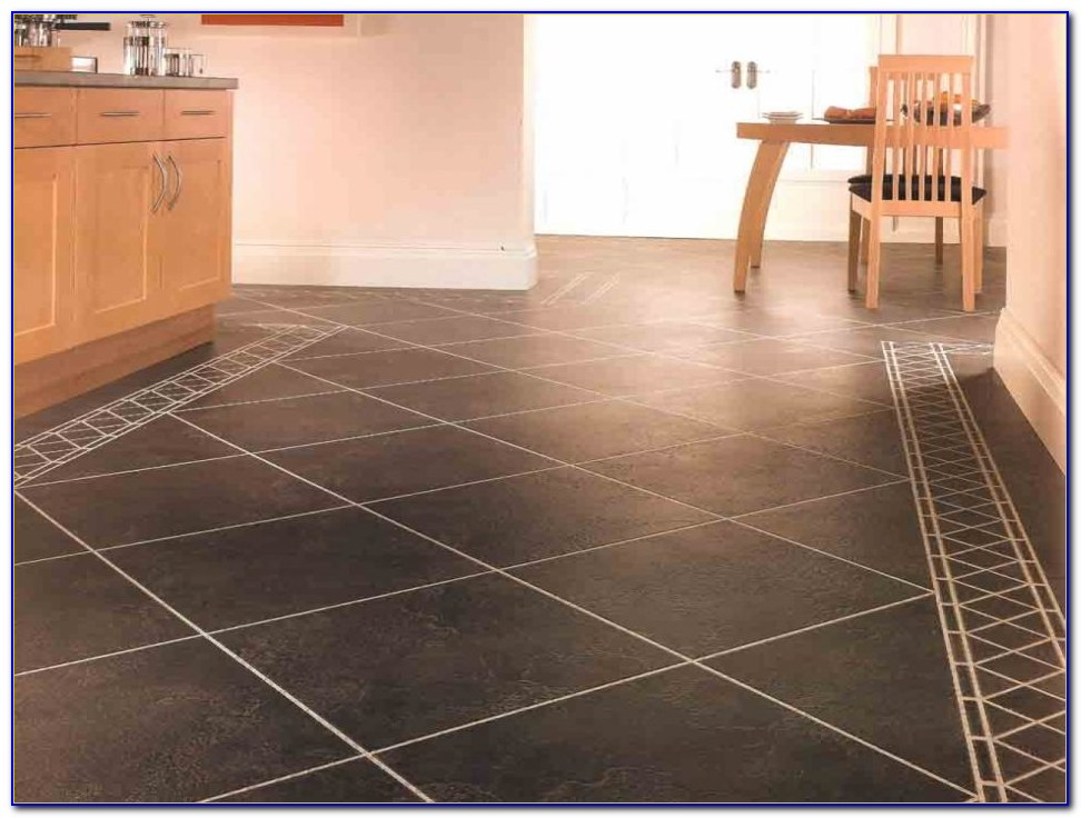 Homebase Vinyl Floor Tiles Self Adhesive