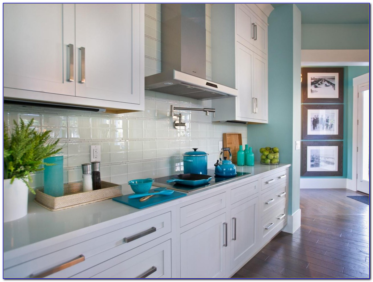 Houzz Kitchen Glass Tile Backsplash