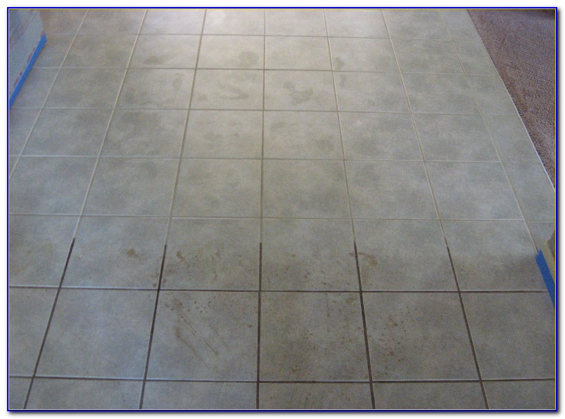 How To Clean Dirty Grout On Tile Floors