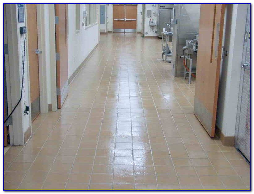 How To Clean Grout On Tile Floor With Bleach