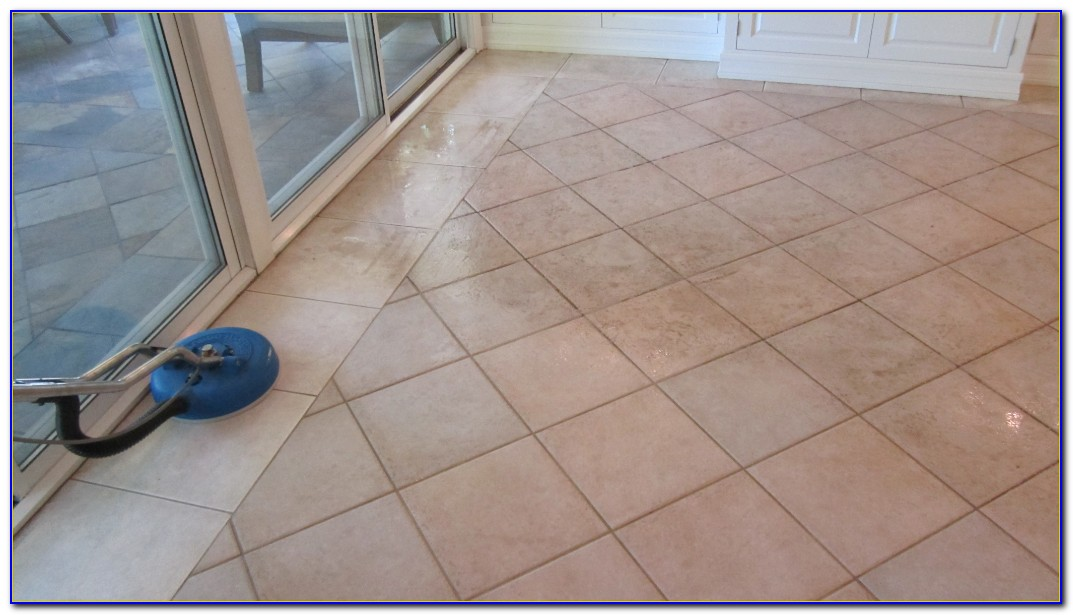 How To Clean Grout On Tile Floors White