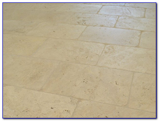 How To Clean Travertine Tile Floors And Grout