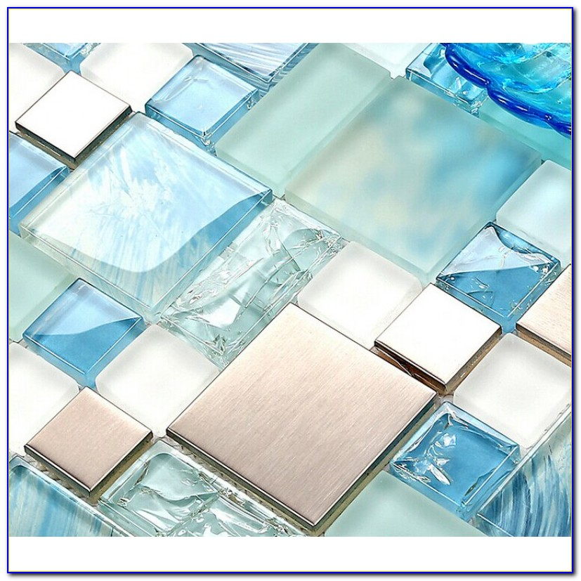 How To Install Glass Mosaic Tile Sheets