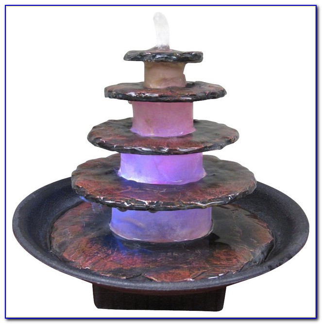 Indoor Tabletop Fountain Waterfall