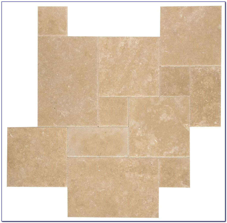 Installing French Pattern Travertine Tiles