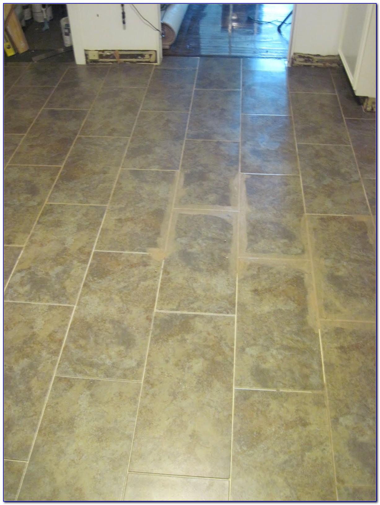 Installing Groutable Vinyl Floor Tiles