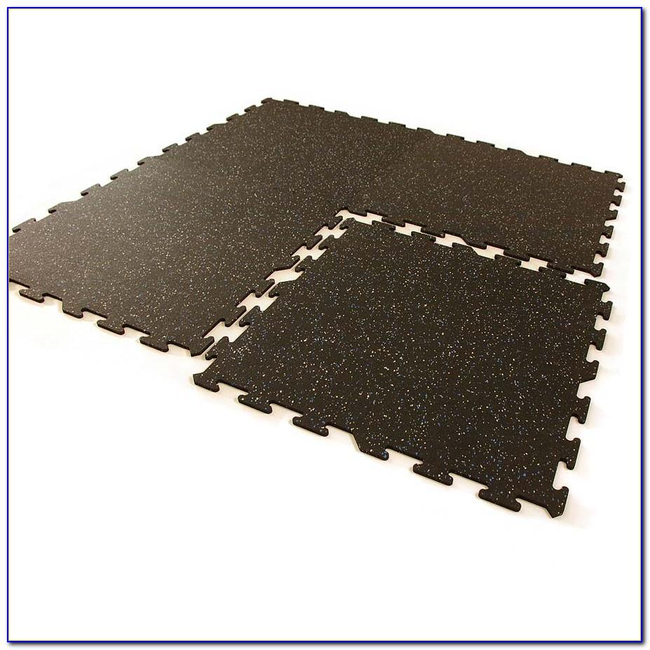 Interlocking Rubber Floor Tiles For Home Gym