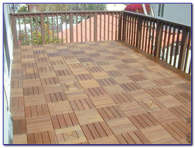 Interlocking Wood Deck Tiles Australia